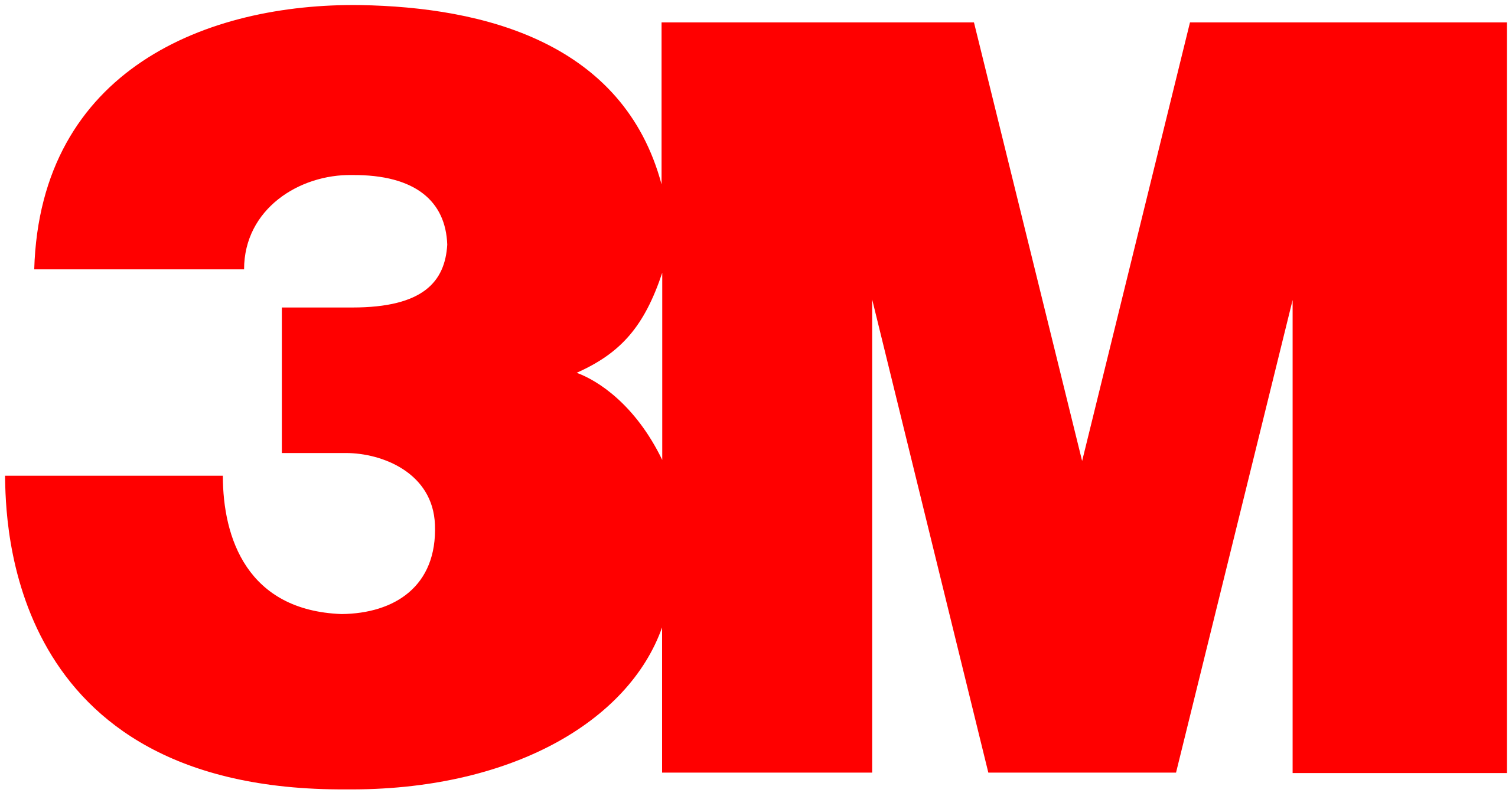 a logo with a red